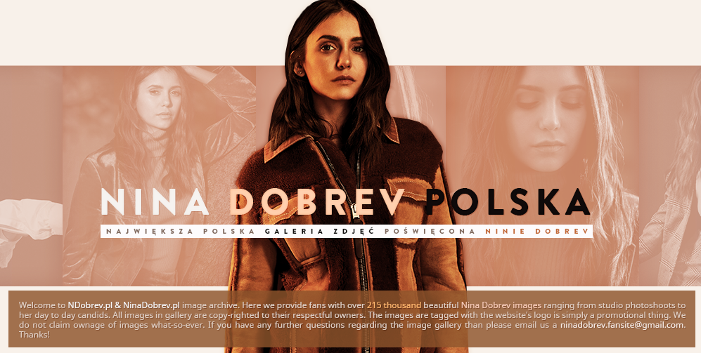Home > Photoshoots - NDobrev.pl • Photo Gallery   Your online pictures gallery for Nina Dobrev
